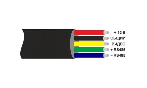 Схема подключения видеокамеры VM32S-P37C.