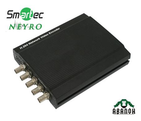 IP-видеосервер Smartec STS-IPTX480 серии NEYRO
